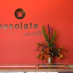 """<a href=""""http://atlanta.eater.com/archives/2012/07/19/-stylefontsize-9px-textalign-centerclick-1.php"""">Atlanta: <strong>Chocolate South</strong> Offers Local and Organic Gourmet Treats in West Midtown</a> [Toni Jordan Hung, Carly Cooper]"""
