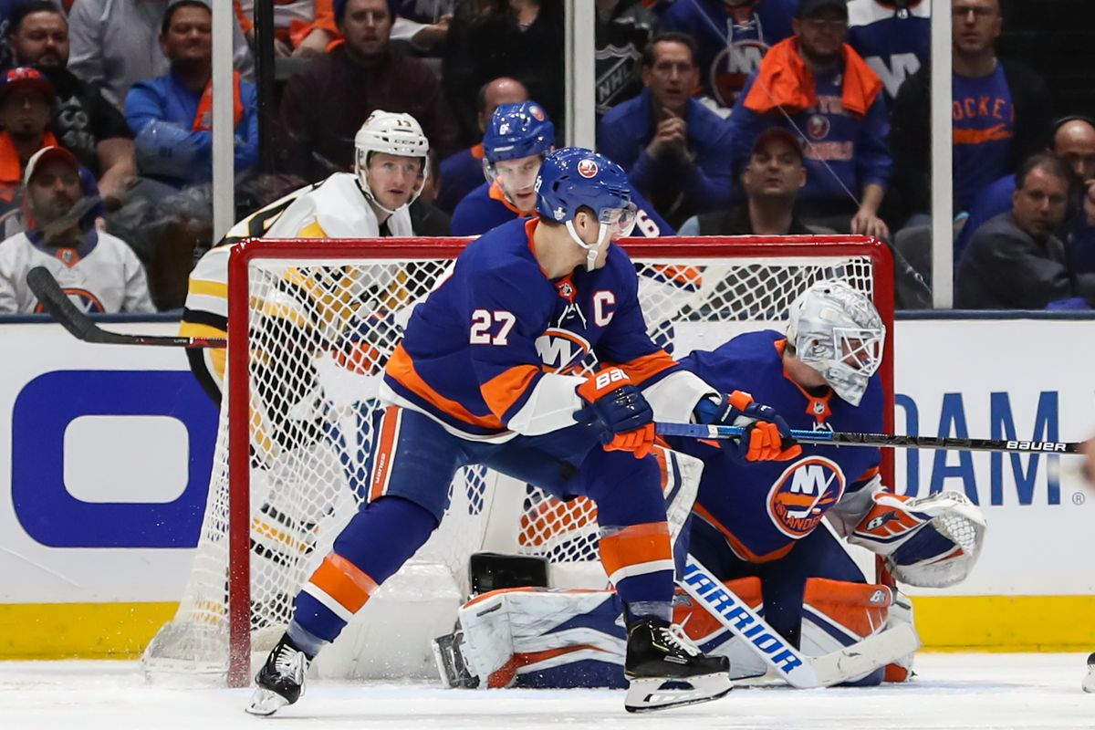 NHL: APR 10 Stanley Cup Playoffs First Round - Penguins at Islanders