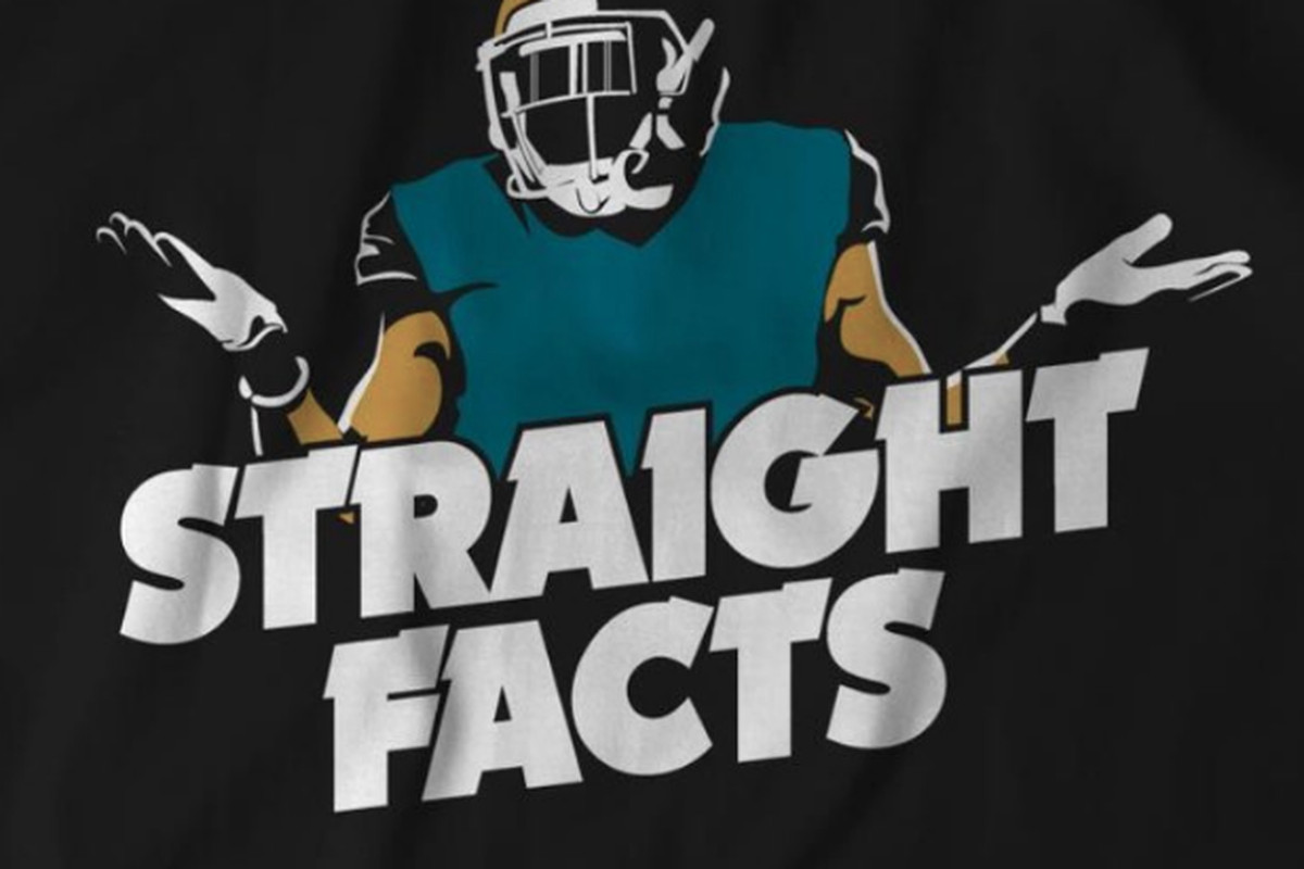 best website efc99 97601 Jalen Ramsey 'Straight Facts' t-shirt now available - Big ...