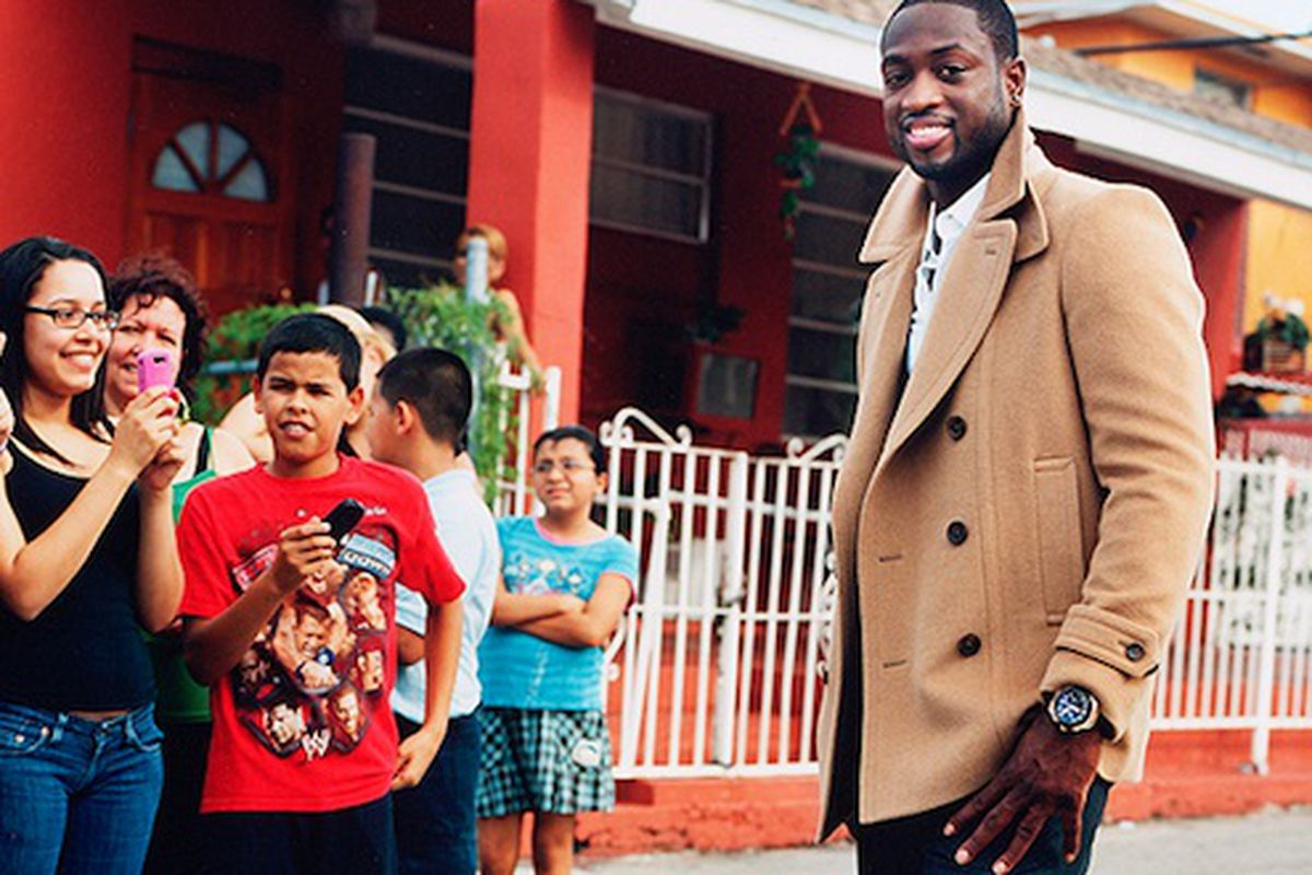 """Want to look as good as Dwayne Wade? Get a tailor. Image via <a href=""""http://www.esquire.com/blogs/mens-fashion/dwyane-wade-style-111710"""">Esquire.</a>"""