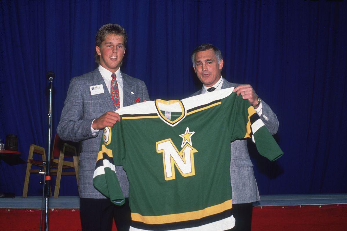 Mike Modano, North Stars' #1 Draft Pick