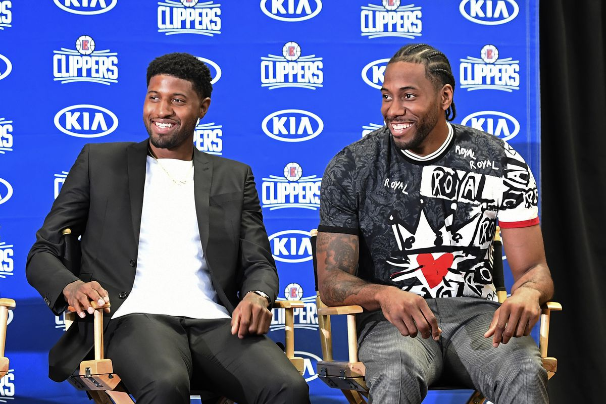 Clippers All About Business at Kawhi Leonard, Paul George Press Conference