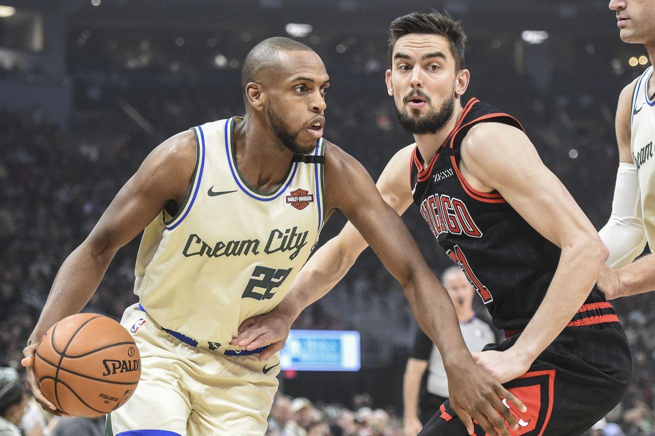 Milwaukee vs. Chicago: Bucks Snag Ugly Win Over Bulls