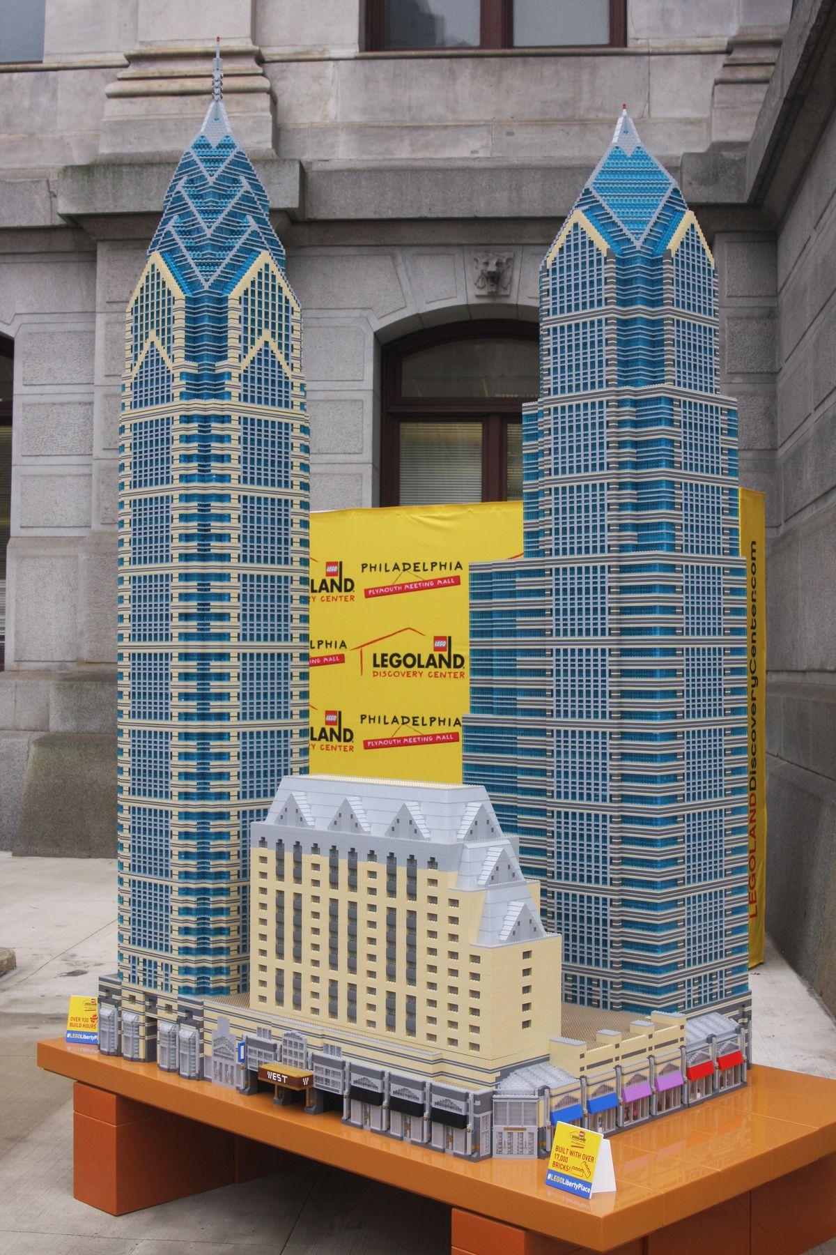 Legoland Philadelphia Unveils One Liberty Place Tower Made