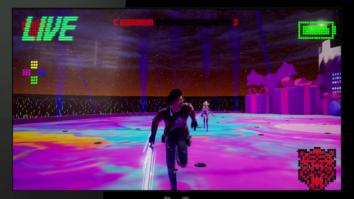 The Kimmy Love boss fight in No More Heroes 3