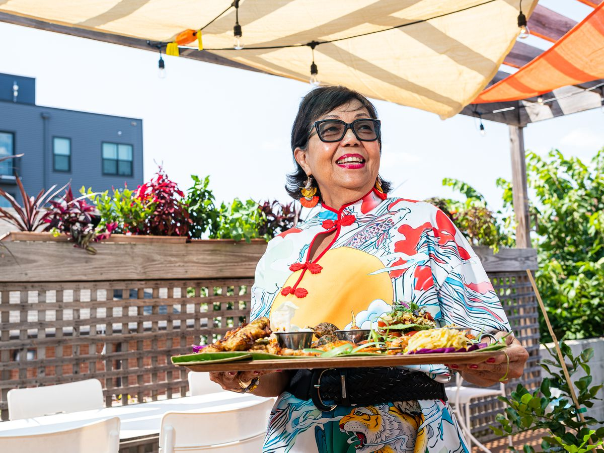 Thamee chef Jocelyn Law-Yone, 68, is thrilled to welcome customers back inside her restaurant on H Street NE