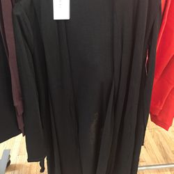 T by Alexander Wang long coverup with hood, $165 (from $550)