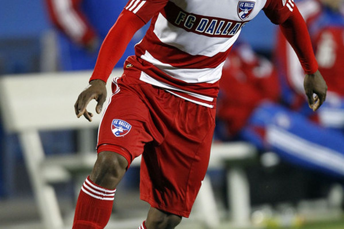 FRISCO, TX - MARCH 26: Fabian Castillo - a new kind of designated player (Photo by Layne Murdoch/Getty Images)