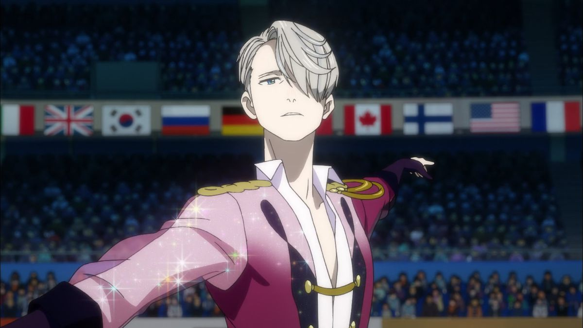 Yuri in costume in Yuri!!! on Ice