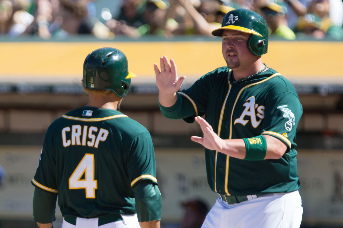 The 2015 A's planned to give 20% of their at-bats to these two players. On purpose.