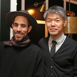 Max Arizmendi and Yuki Kayama of Cafe Max