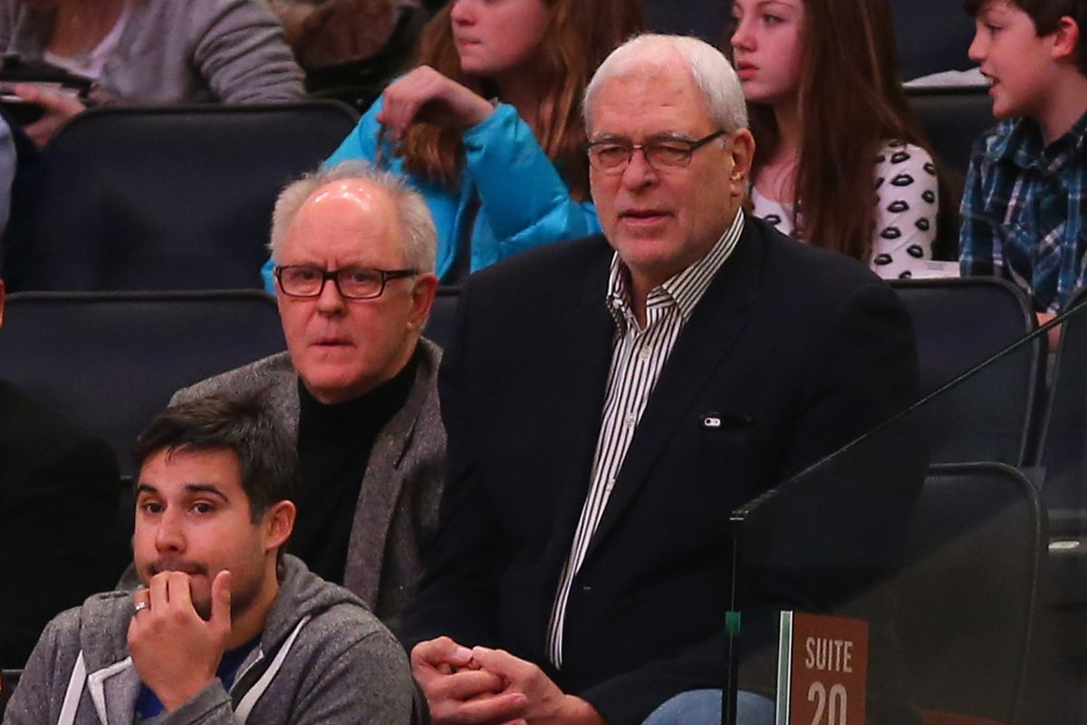 The Knicks didn't win one for Lithgow.