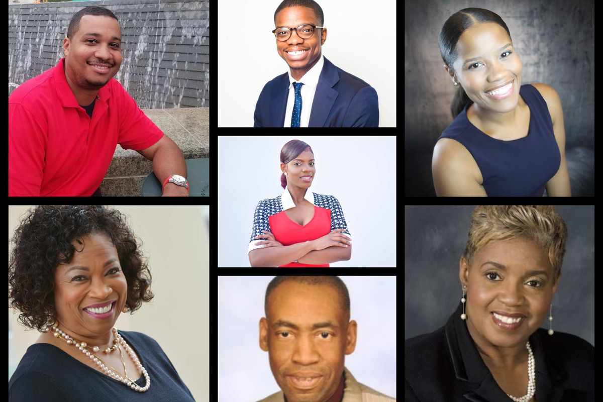 Nine candidates are vying for two seats on Detroit's school board in November. Seven submitted photos.