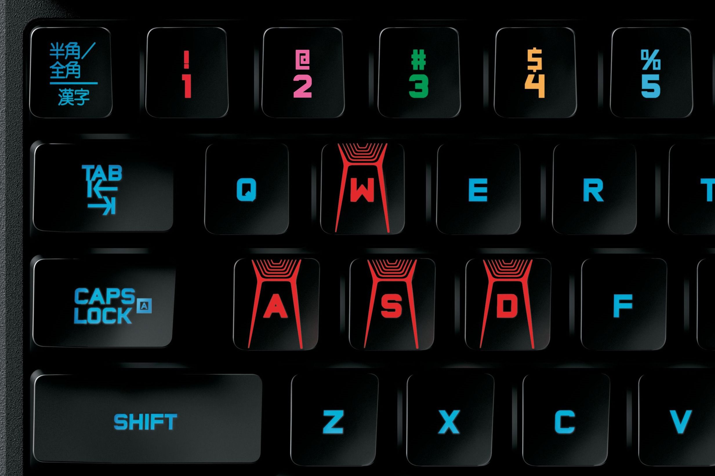5b263924a95 Logitech's G410 mechanical keyboard is a visual and tactile delight ...