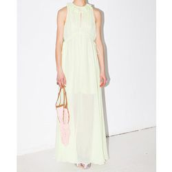 """<b>Carven</b> Crepon Long Dress, <a href=""""http://www.mnzstore.com/collections/clothing/products/crepon-long-dress-60-off"""">$376</a> (from $940) at Maryam Nassir Zadeh"""