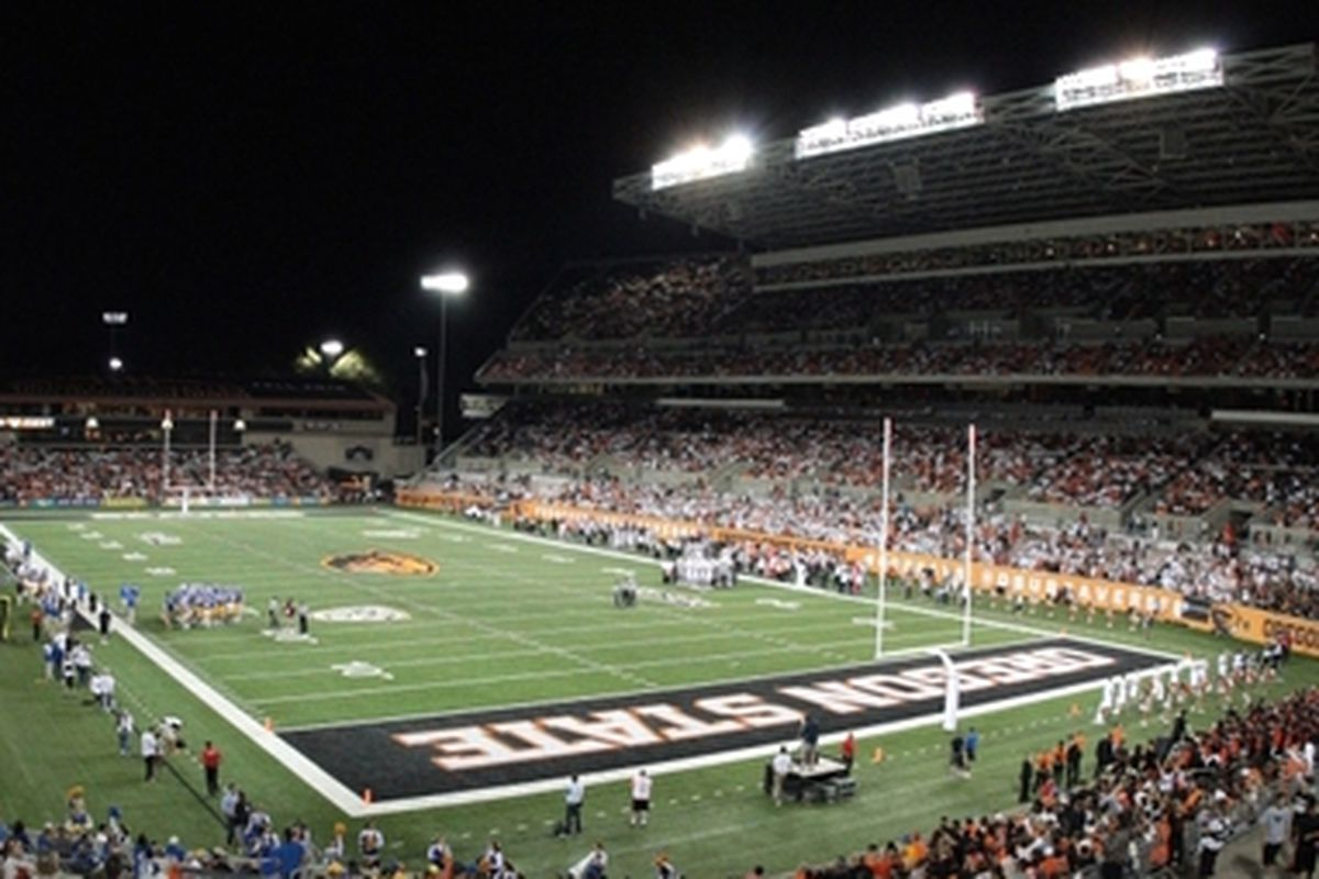 Oregon State fans will see some stiff competition at Reser this fall.