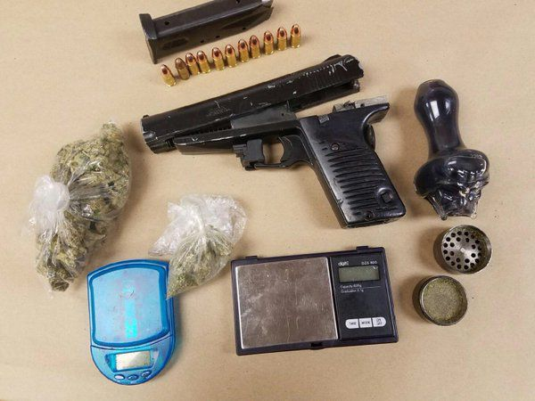 Police recovered a handgun and drug paraphernalia during an arrest late Sunday in Evanston. | Evanston police