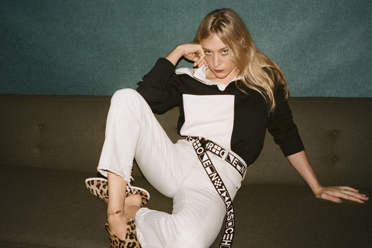 Chloe Sevingy for PSWL, Proenza Schouler's more affordable collection of wardrobe staples.