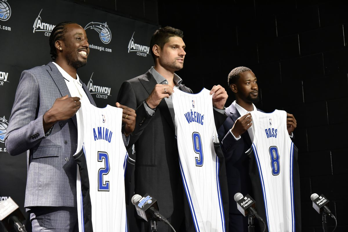 Orlando Magic Free Agents Press Conference
