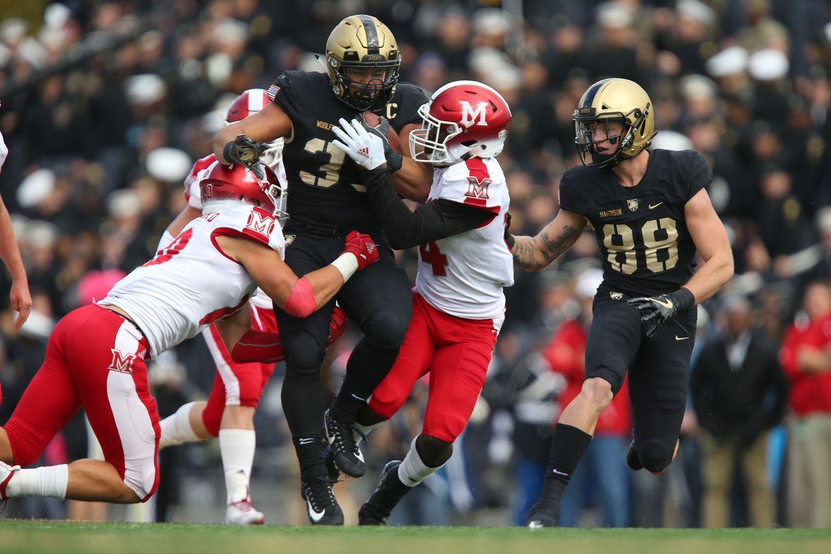 NCAA Football: Miami (Ohio) at Army