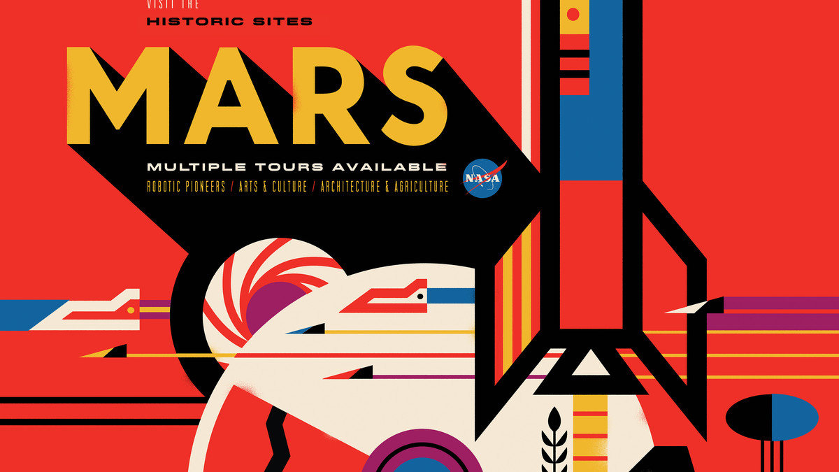 NASA's new space tourism posters are spellbinding. '