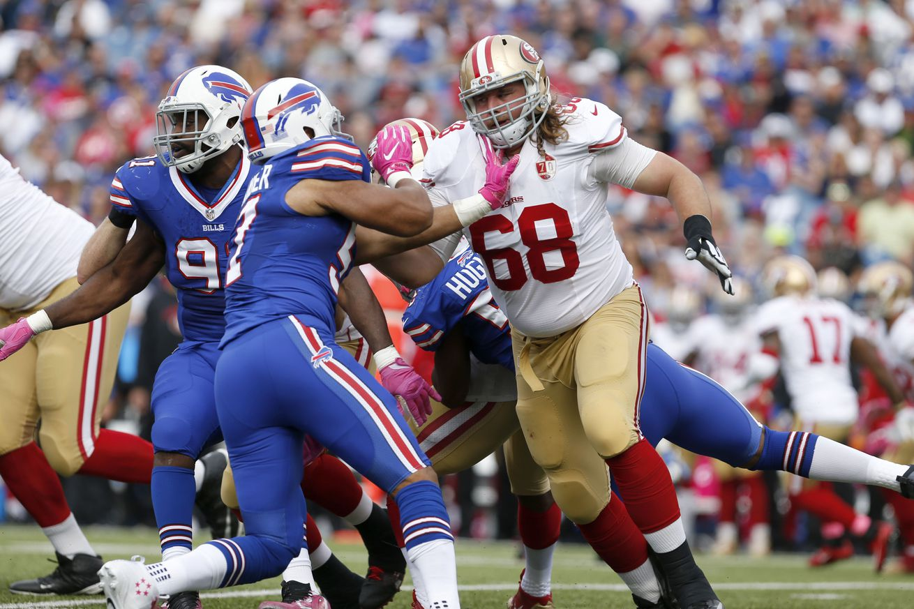 49ers roster breakdowns, 90-in-90: Zane Beadles
