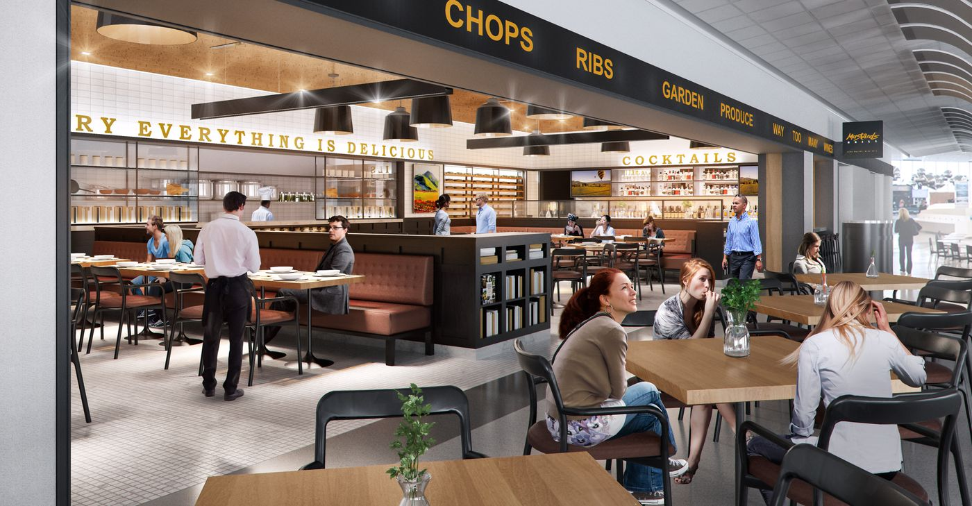 Eat And Drink Through The San Francisco International Airport Sfo Eater Sf