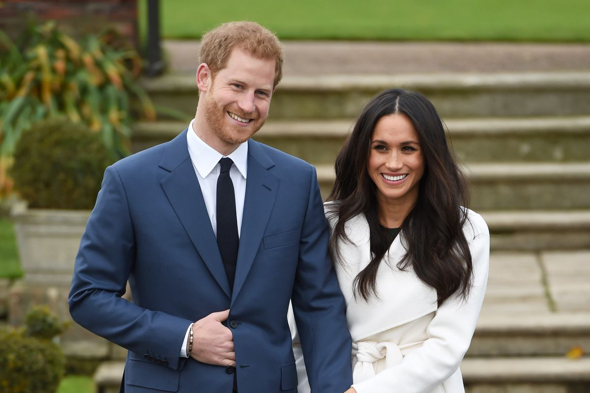 Prince Harry and Meghan Markle announce their engagement at Kensington Palace