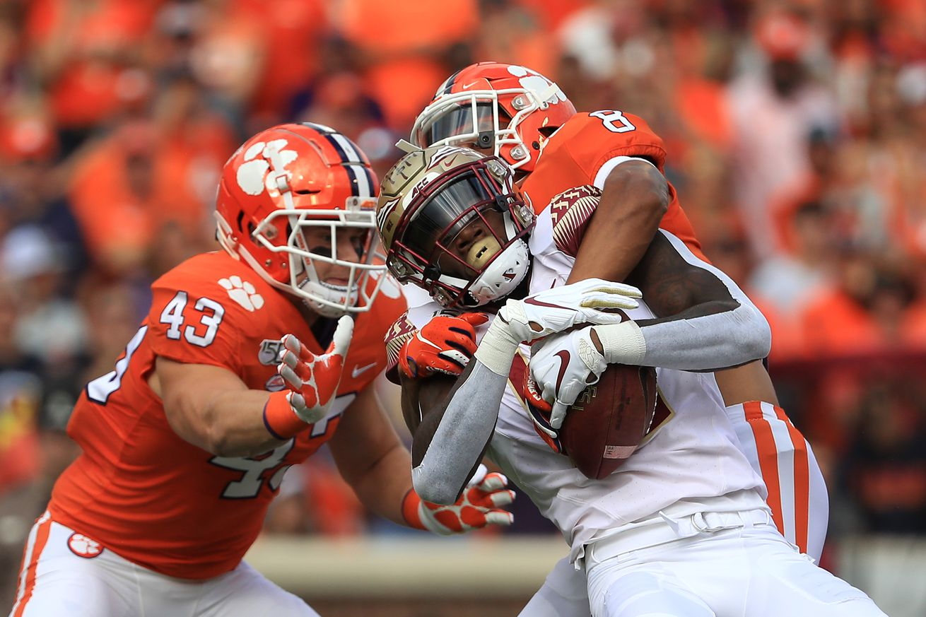 Paws Up, Paws Down: Clemson Can 'Five Bomb' the Seminoles