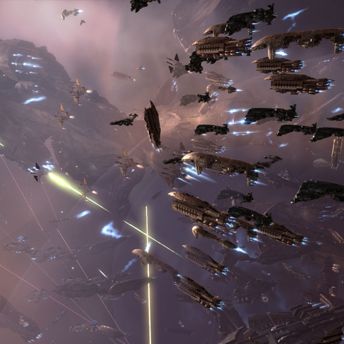 Watch a massive VR space battle in the latest Eve Valkyrie trailer