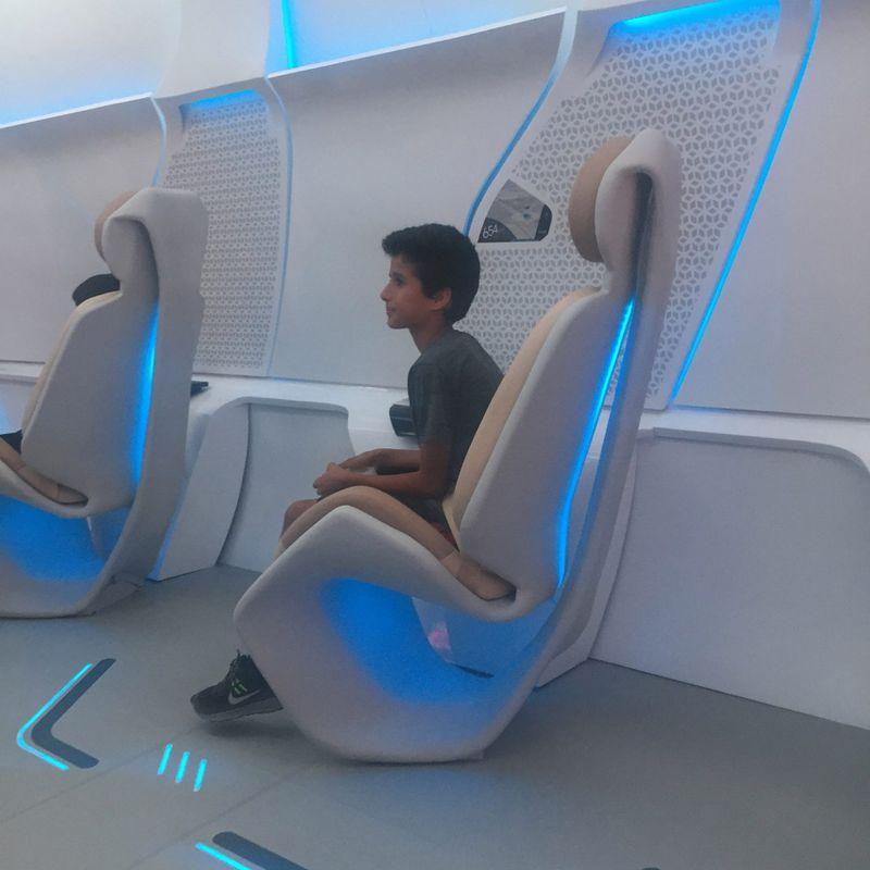 Hyperloop One unveils futuristic passenger pod prototype
