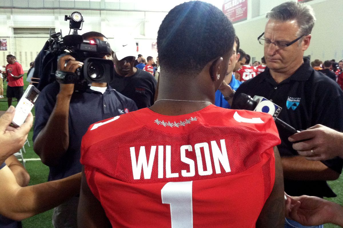 Star of fall camp, Dontre Wilson.