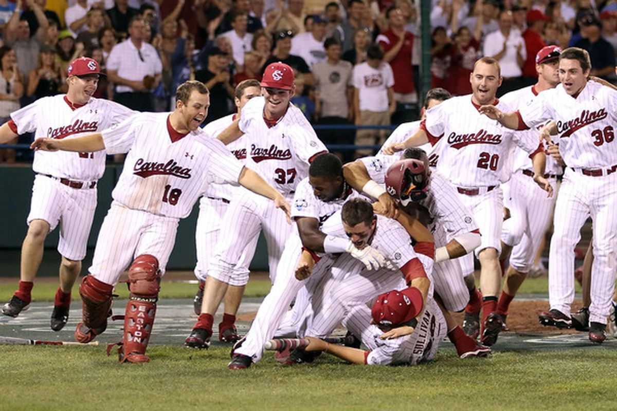 Congratulations to the Gamecocks. Every Vanderbilt baseball player should use this picture to work themselves up into a rage before games in the 2011 season.