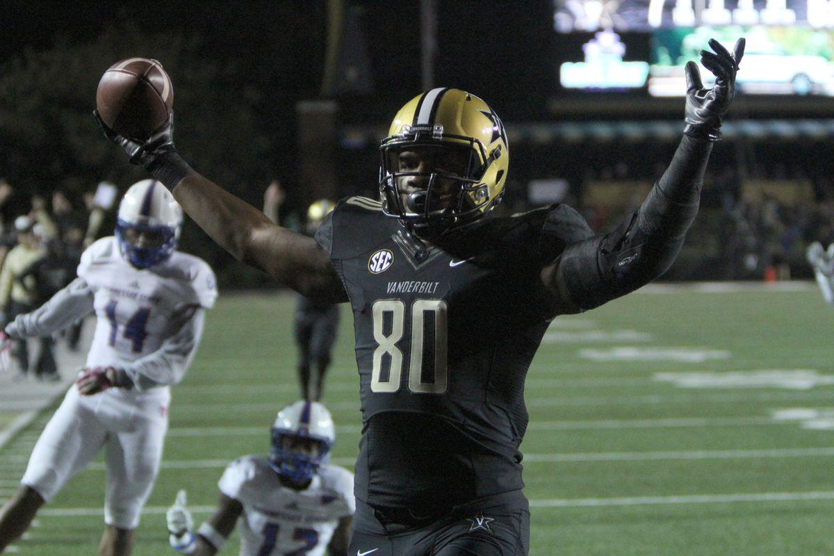 NCAA FOOTBALL: OCT 22 Tennessee State at Vanderbilt