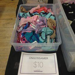 On Gossamer panties for $10