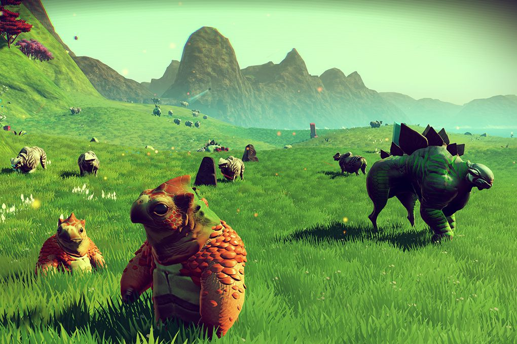No Man's Sky promotional images (HELLO GAMES / SONY)