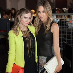 """At right, blogger Jacey Duprie of <a href=""""http://www.damselindior.com/"""">Damsel in Dior</a>."""
