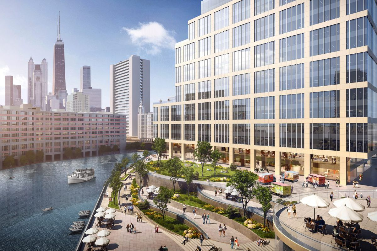 Multiple Waterfront Towers Planned For Tribune Site In