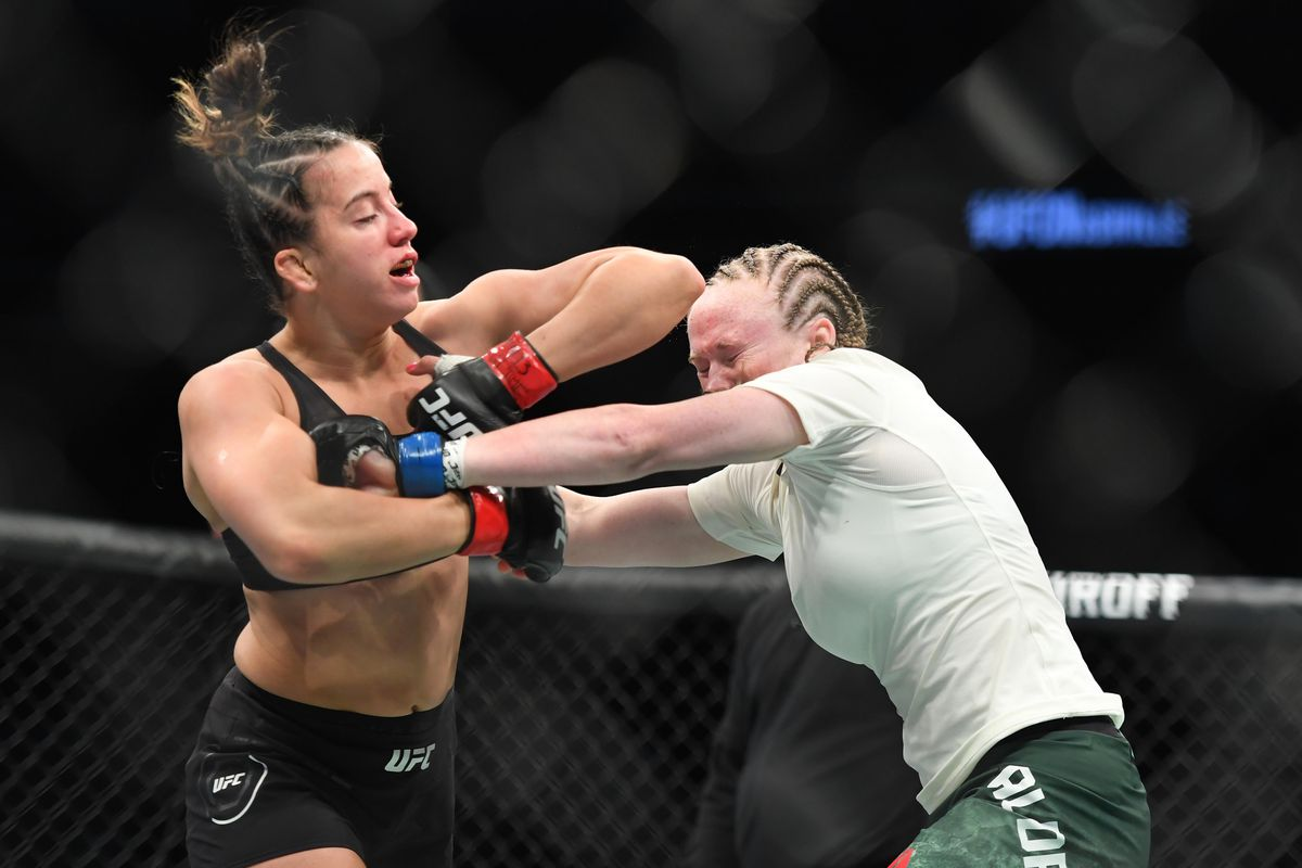 UFC Nashville results: Maycee Barber comes back to finish ...