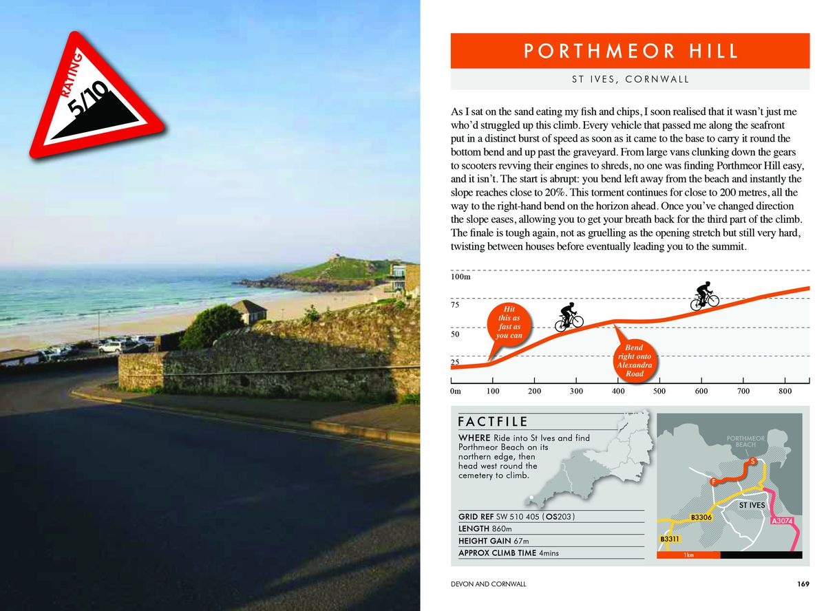 Cycling Climbs of South-West England, by Simon Warren