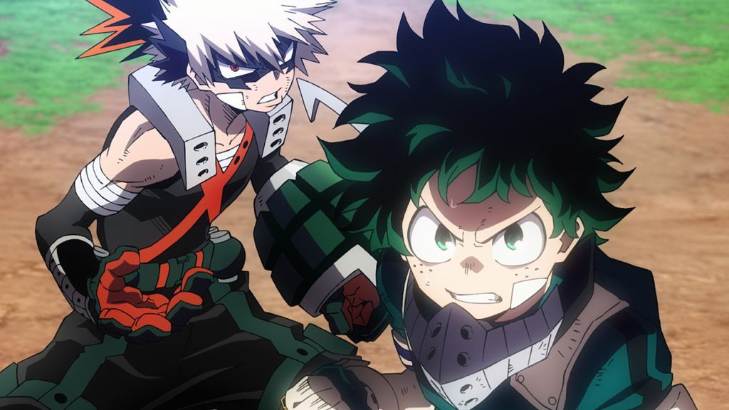Review My Hero Academia Heroes Rising Is A Big Anime Disaster Movie Polygon