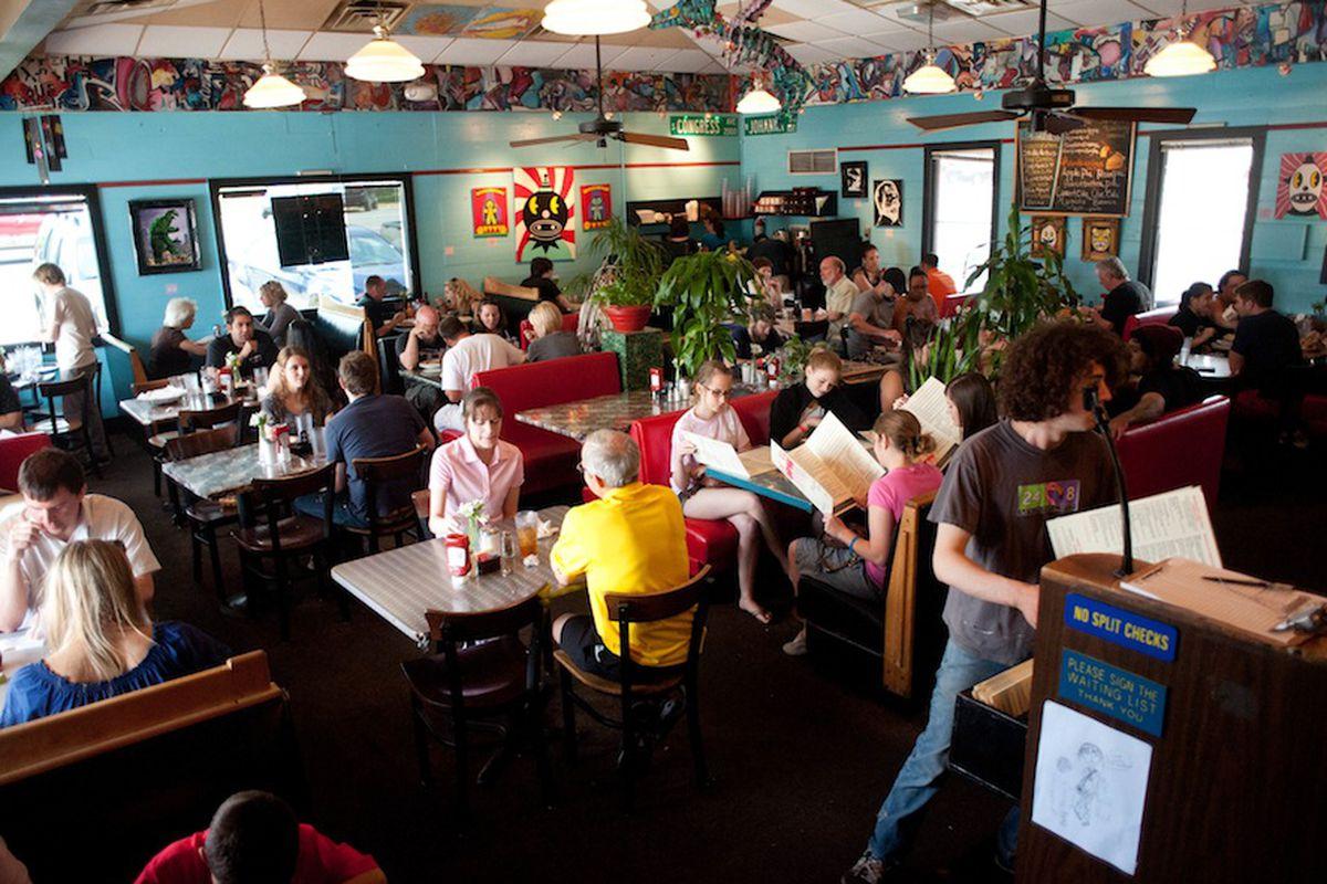 Magnolia Cafe, an Austin late-night favorite.