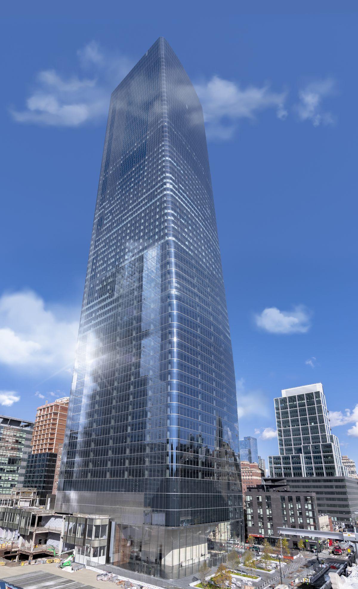 Construction Tour: One Manhattan West — FIELD CONDITION