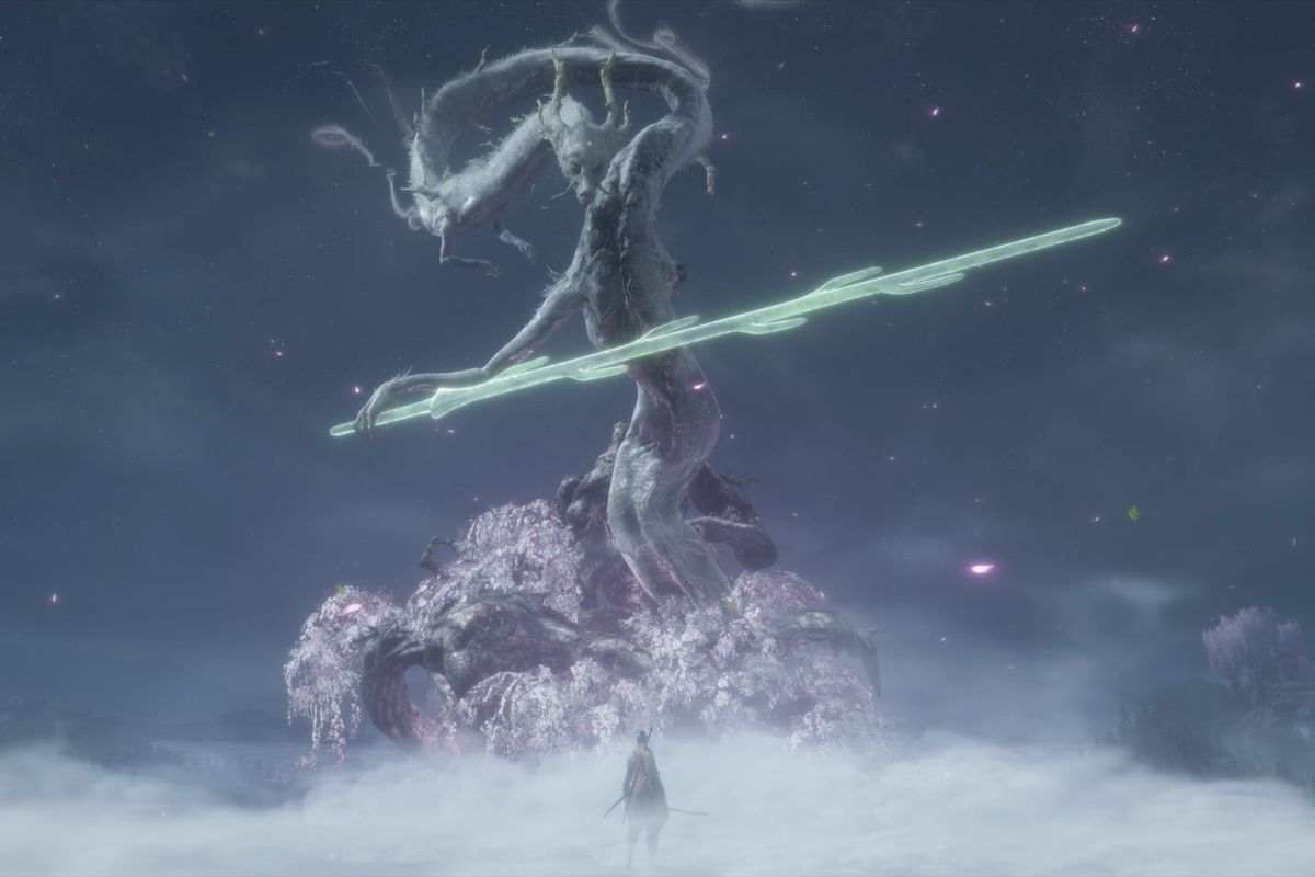 Sekiro Old Dragons of the Tree and the Divine Dragon boss guide