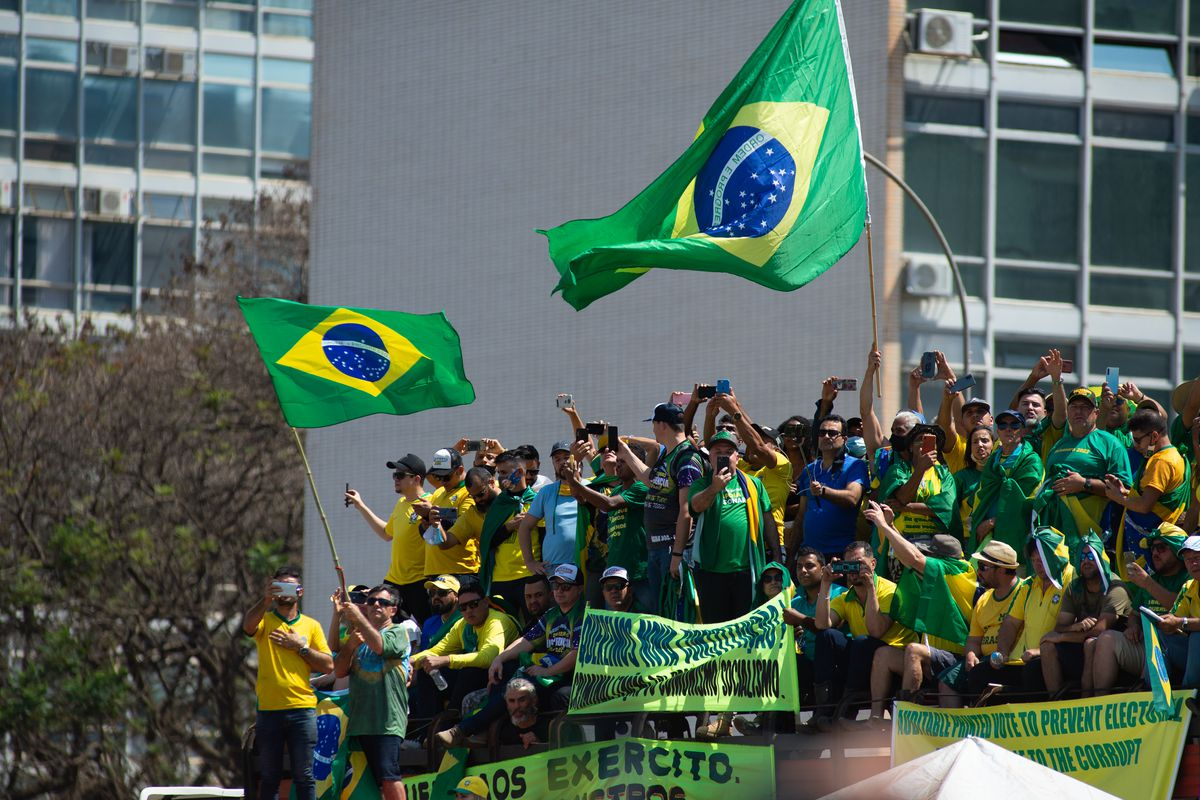 Pro And Against Bolsonaro Demonstrations On Independence Day