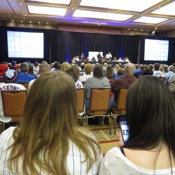 From the back of the room at Cubs Jeopardy