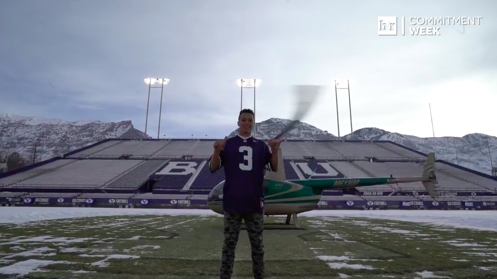 4 Star Recruit Chaz Ah You Commits To Byu By Landing At