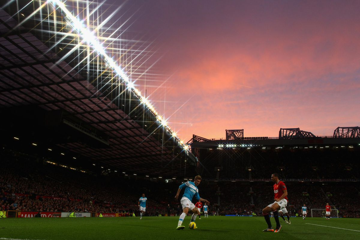 Old Trafford... Oh you beauty