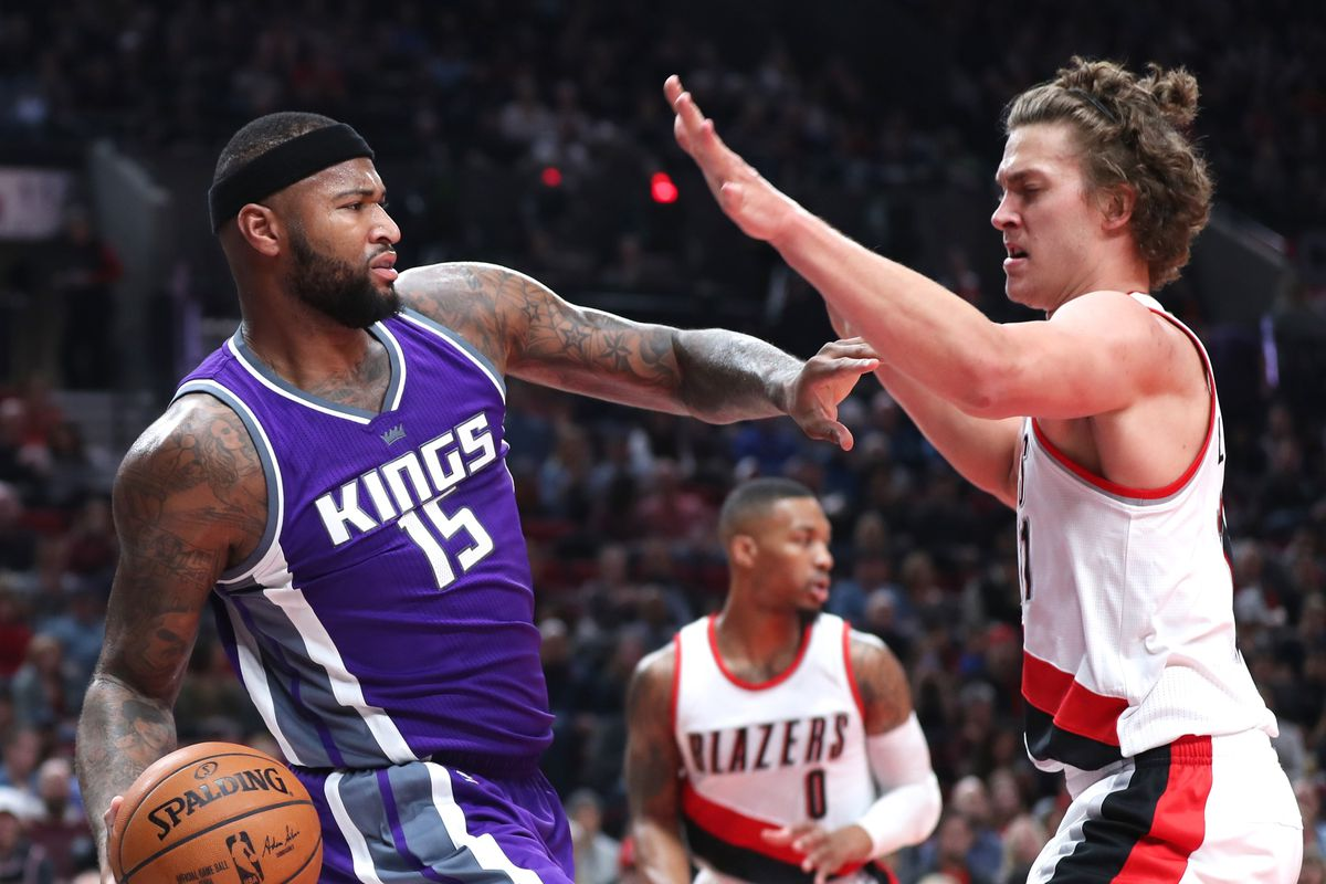 ce4ac08ac5c7 DeMarcus Cousins and Meyers Leonard have the weirdest beef in the ...