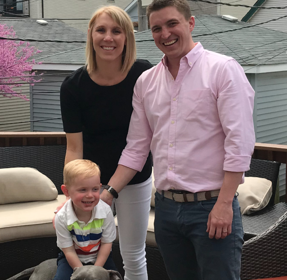 Tom Van Lente is a private chef who lives in Roscoe Village with his wife, Shannon, and their son.